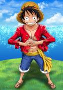 One Piece colored manga